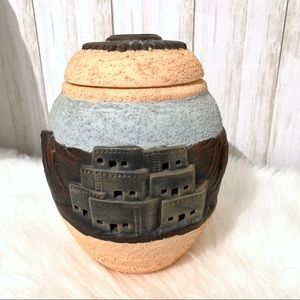 Other - Western Perforated Texture Candle Holder
